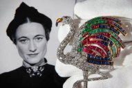 Wallis Simpson Flamingo Broach