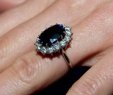 Sapphire Engagement Ring Diana