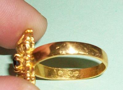 960 Mark - Antique Gold Ring