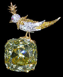 Bird On A Rock Tiffany Diamond