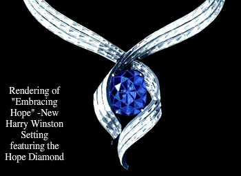 blue embracing diamond the hope today french