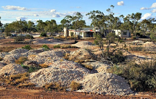 Black Opal Mining Capital in Australia