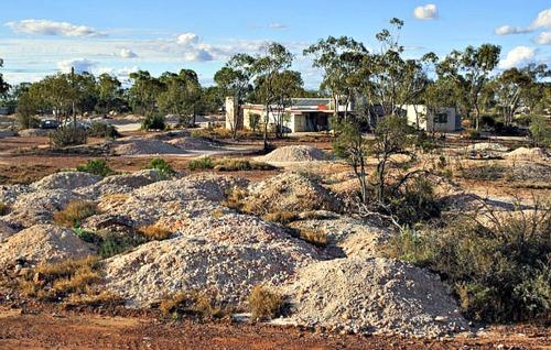 Black Opal Mining Capital in Australia