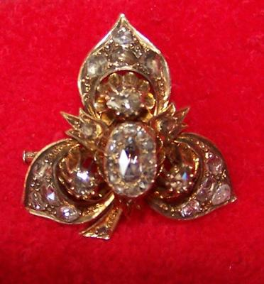 Antique Diamond Brooch 1800 S