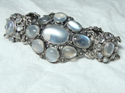 Antique Moonstone Bracelet