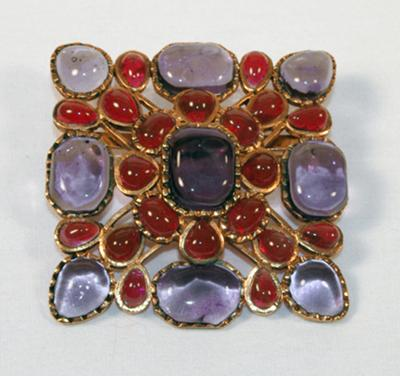Chanel brooch front