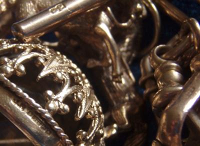Citrine Horse Seal HallmarksJR-Brimingham