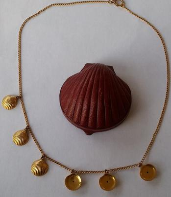 Necklace and box