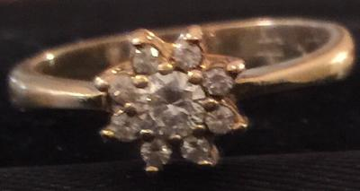 It is similar to the Tiffany Flower Cluster Rings