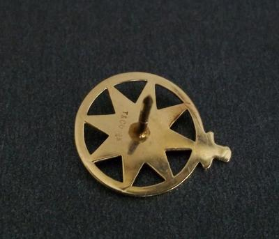 For Sale 14k Yellow Gold Old Tiffany Amp Co Nautical Tie