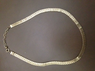 SP 10K gold European Necklace