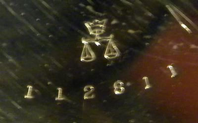 Hamilton Pocket Watch Hallmark Question