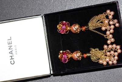 Chanel Paris Earrings