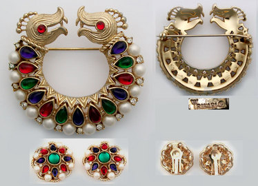 Vintage Or Antique Costume Jewelry