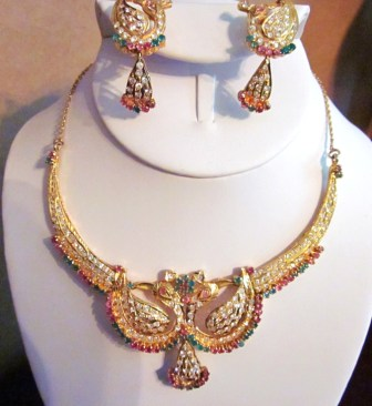 India Bridal Set Is Gold Jewelry Marked