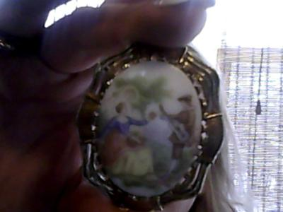 Is my pin by fragonard worth anything for Antique jewelry worth money