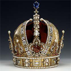 Crown of Emperor Rudolf II Austria