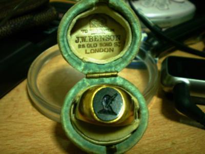 Loch Ness Monster ring