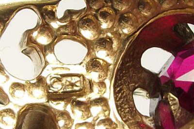 Unknown Hallmark Mens Gold Ring