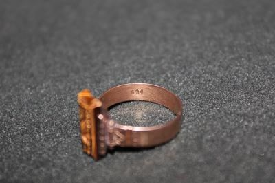 Old tiger 39 s eye ring what do these hallmarks mean for What does hallmarked mean on jewelry