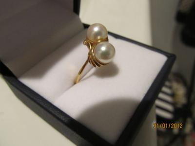 Japanese Pearl ring