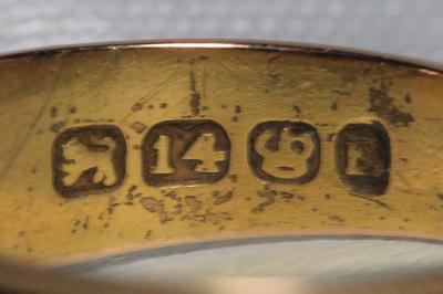 Possible Victorian Ring Hallmark Id Help