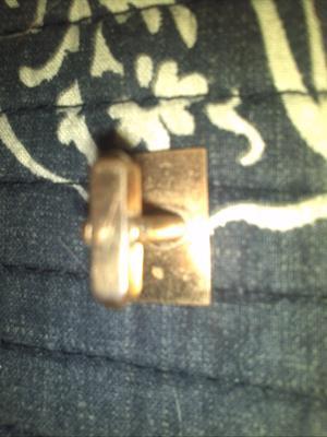 Back of Gold Cuff