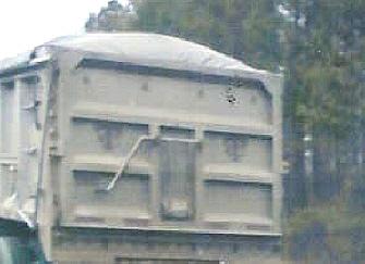 TC hallmark on truck