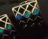 Solid Gem Opal Cufflinks