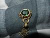 green fob bracelet - 1