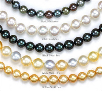 Antique Jewelry Investor_ South Sea Pearls_Colors