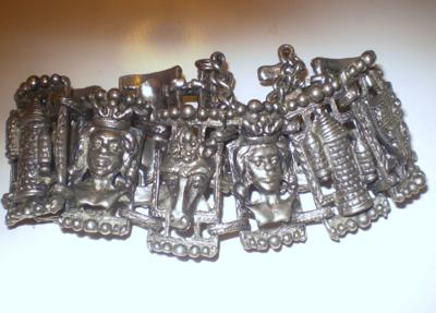 Vintage Gothic Chess Piece Bracelet