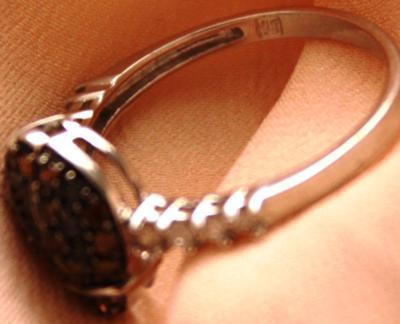 MAKERS MARK LADYBUG DIAMOND RING
