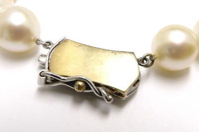 14K White Gold Clasp