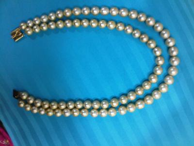 what does it mean if the string of pearls is 800cts?