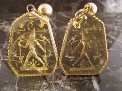 god p solar jewelry set ancient s fashion re egypt deity earrings of egyptian ra