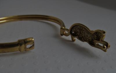 mystery mark on cat bracelet