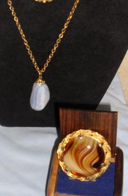Beautiful Vintage Scottish Agate Treasures