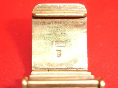 Watch band clasp