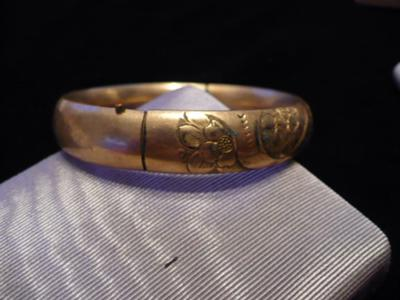 Antique bracelet questions for What does hallmarked mean on jewelry