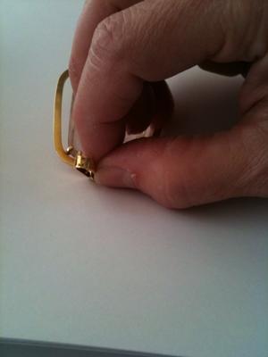 Maker's Mark for 18K Pendant